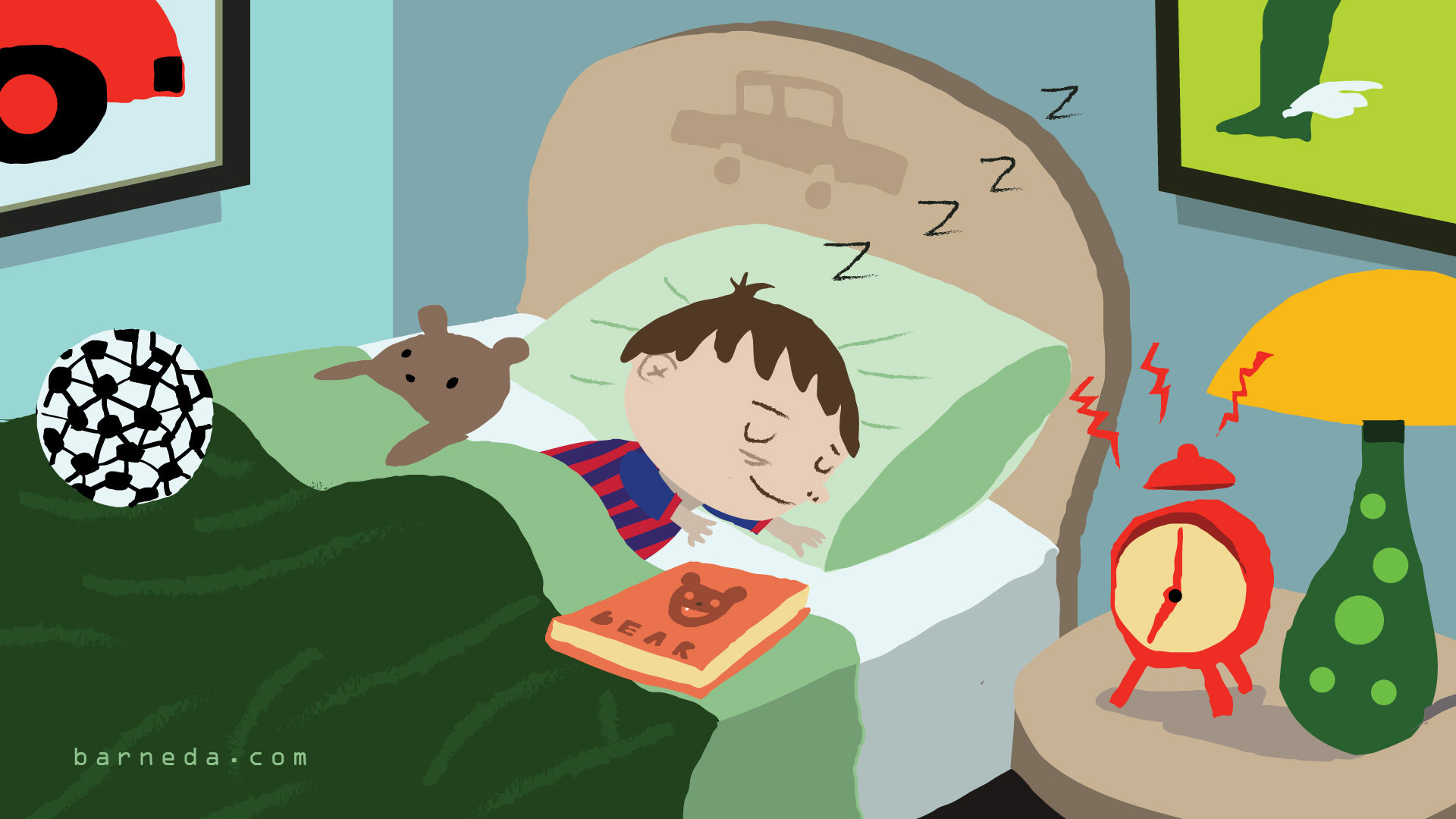 Bedtime clipart childrens bed, Bedtime childrens bed ...