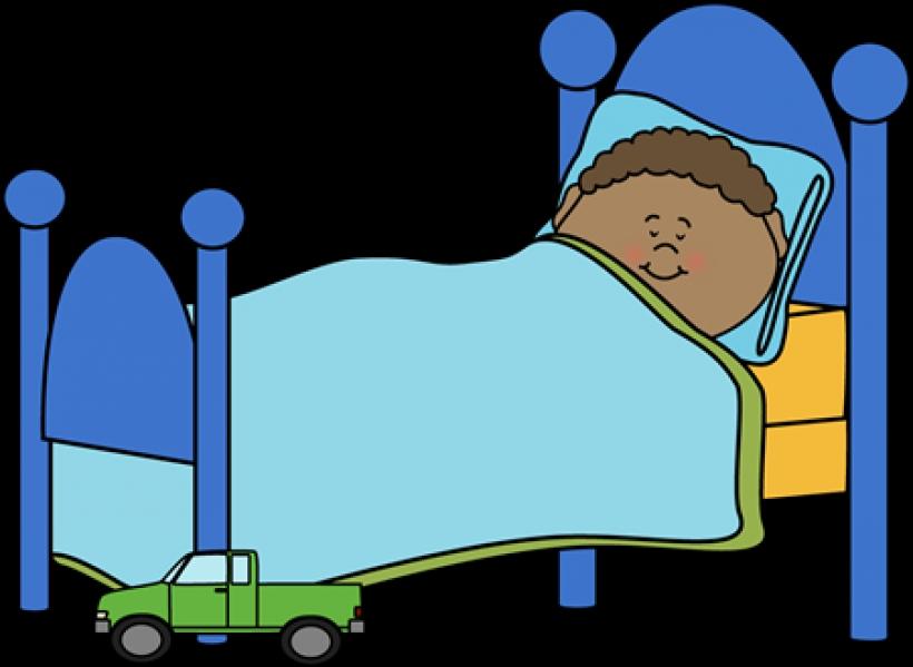 Image of sleep sleeping. Bed clipart bedtime