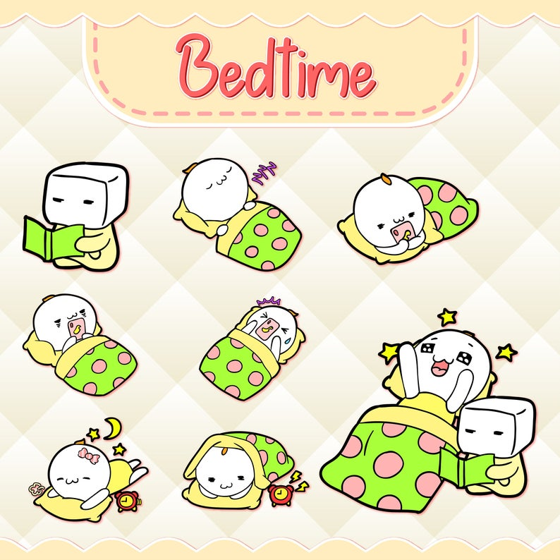 Bedtime clipart clip art. Kawaii design download cute