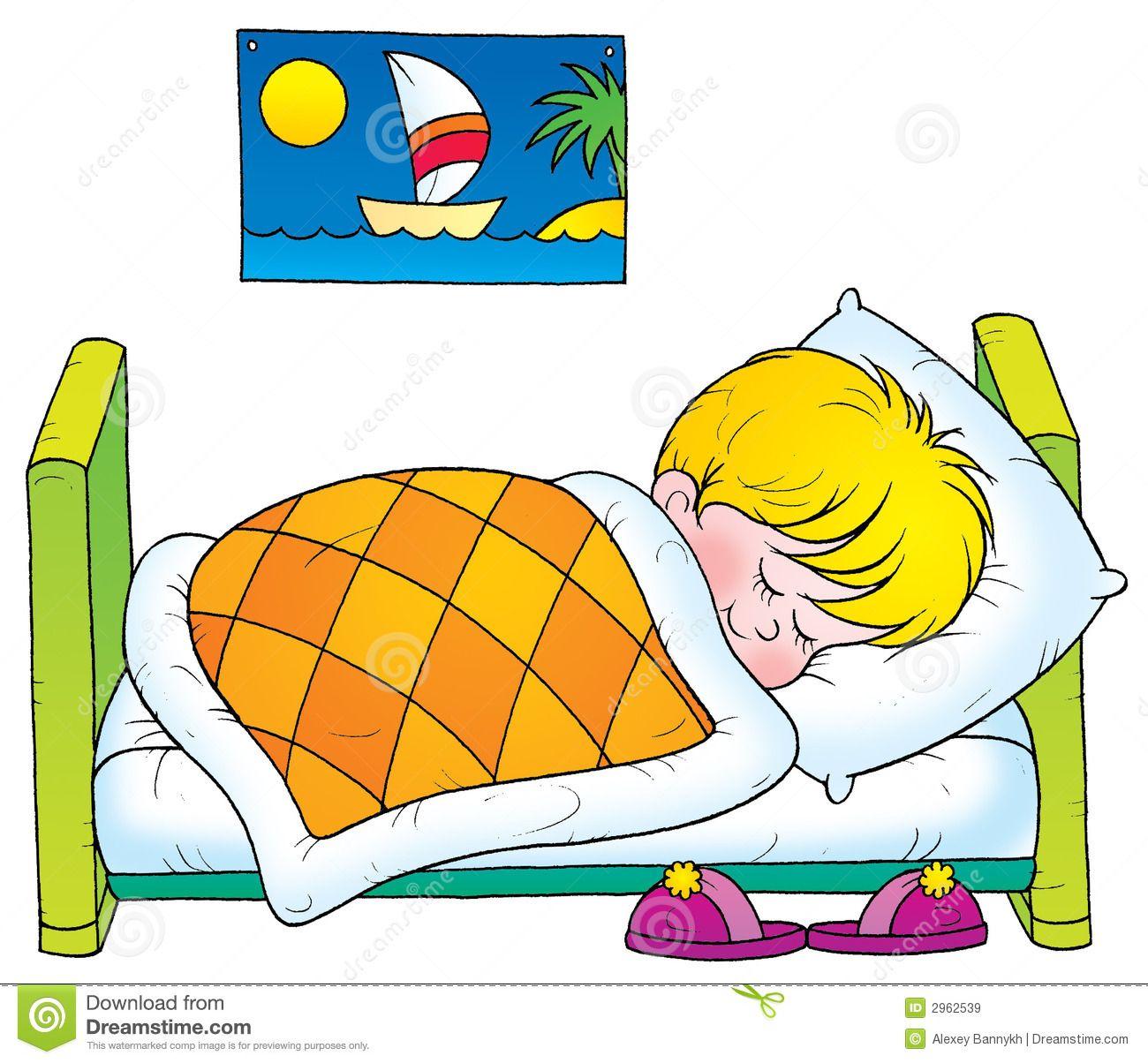 Clipart bed proper sleep. Health cliparts suc khoe