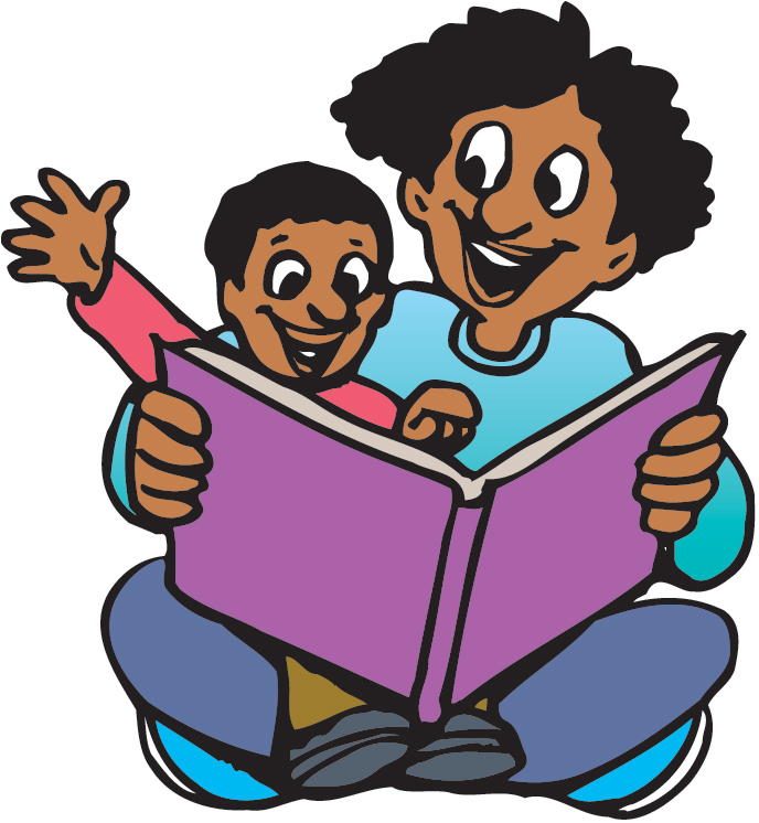 Storytime clipart literacy night. Family reading free download