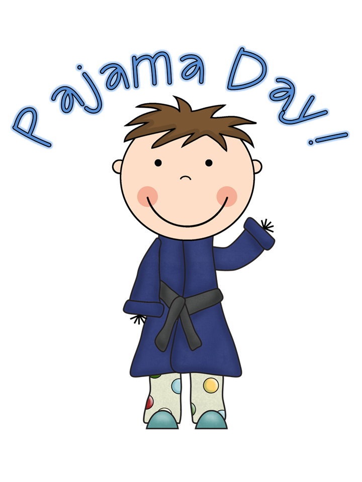 A project for kindness. Pajamas clipart last day preschool