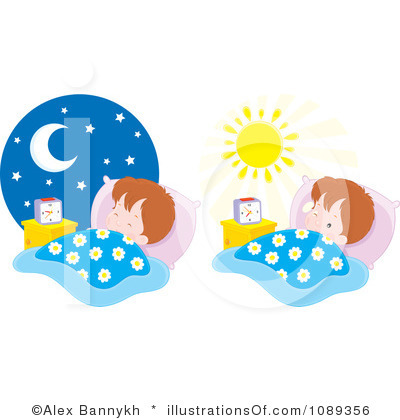 How to get kids. Bed clipart bedtime