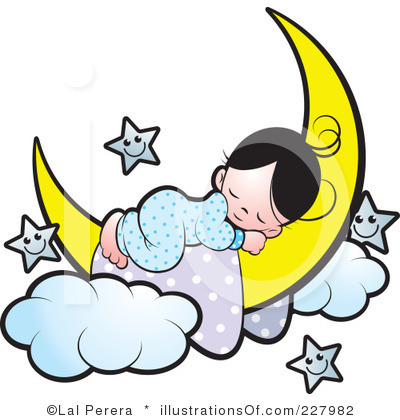 Child sleeping panda free. Boy clipart bedtime