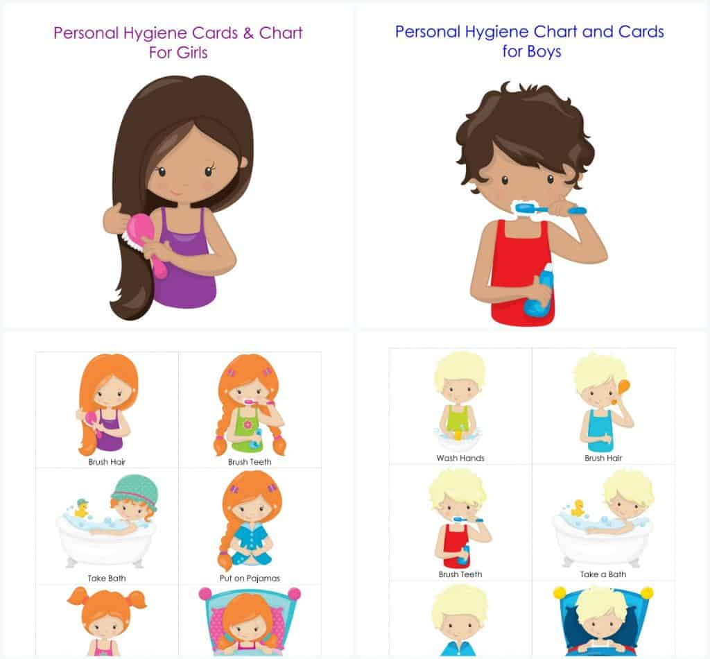Personal hygiene and routine. Bedtime clipart toddler bedtime
