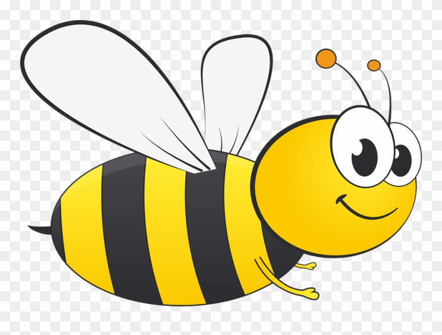 Bee clipart. Of honey and busy