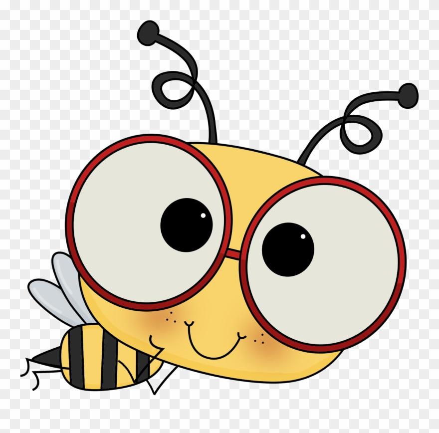 Edu on the go. Bee clipart abeja