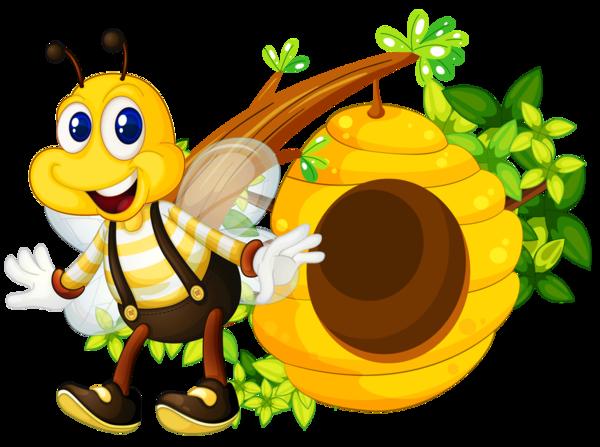 Bee clipart abeja. Abeilles abelha png pinterest