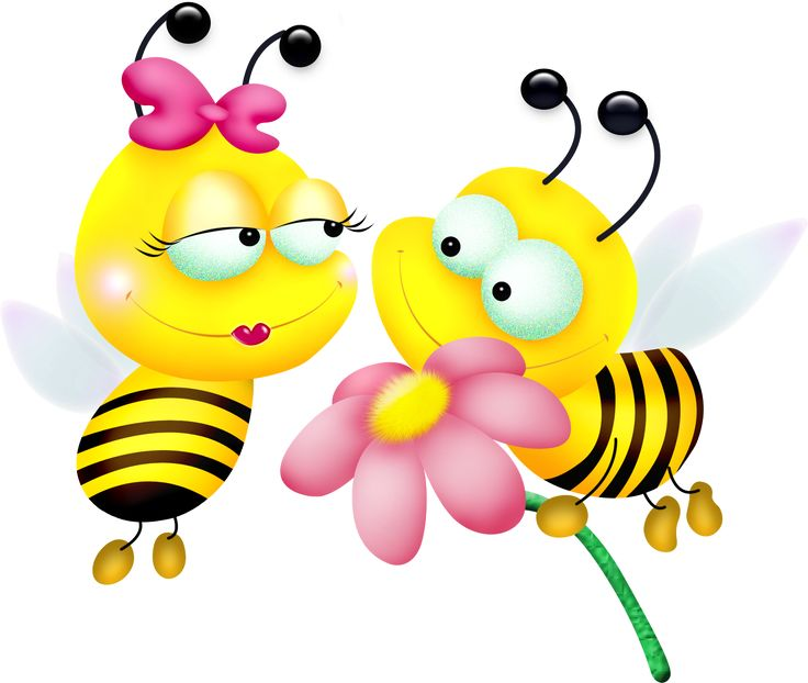 best clip art. Bee clipart abstract