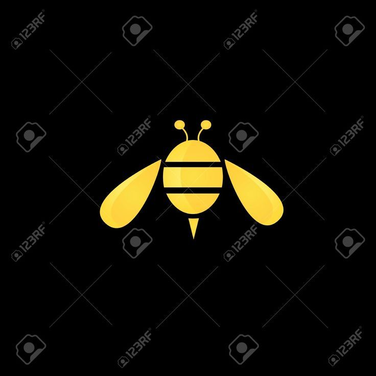 bee clipart abstract #51838692
