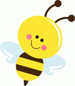 Bee clipart adorable.  best mages images
