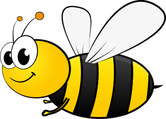 Cliparts bumble. Bee clipart adorable