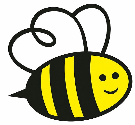 Bee clipart adorable. Cute draw worksheet coloring