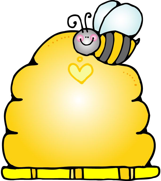 Bee clipart beehive. Template best pinterest