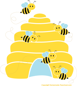 Pin by lisa price. Bee clipart beehive