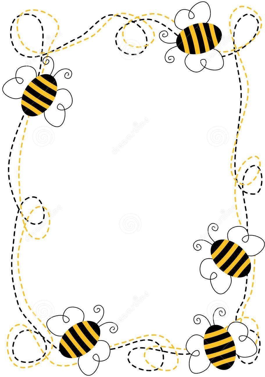 Bee clipart boarder. Listen up my lovelies