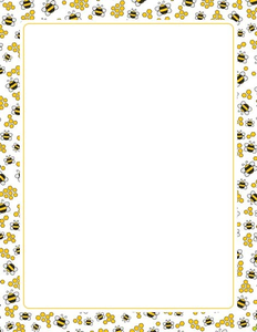 Bee clipart boarder. Bumble border free images