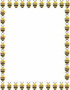 Bee Border Clip Art