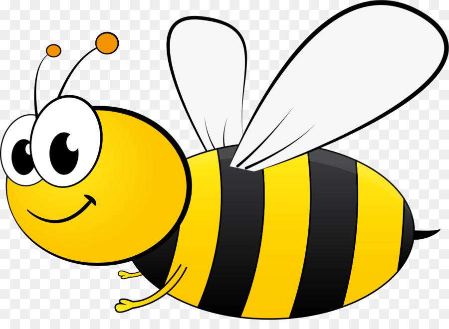Clipart bee cartoon. Illustration beehive