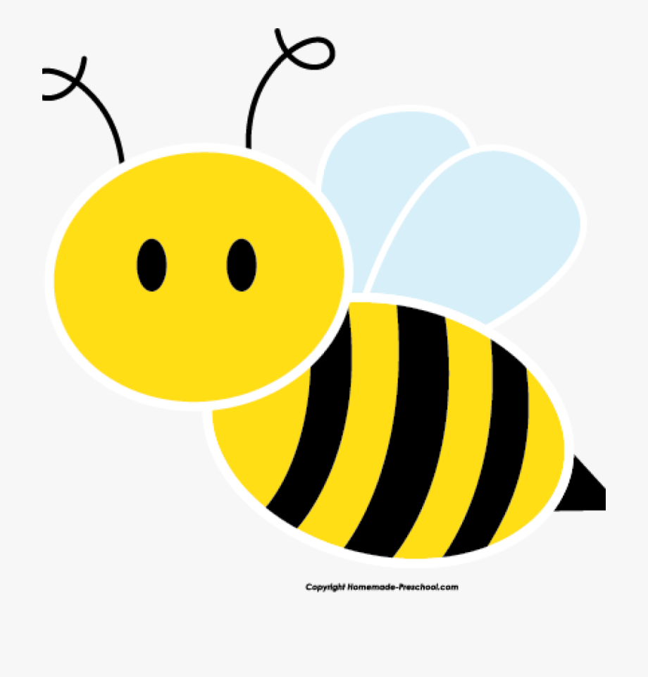 Bee clipart bumble bee. Images clip art cute
