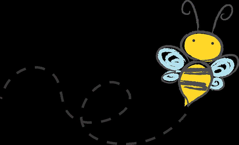 Bee clipart bumble bee. Border clip art net
