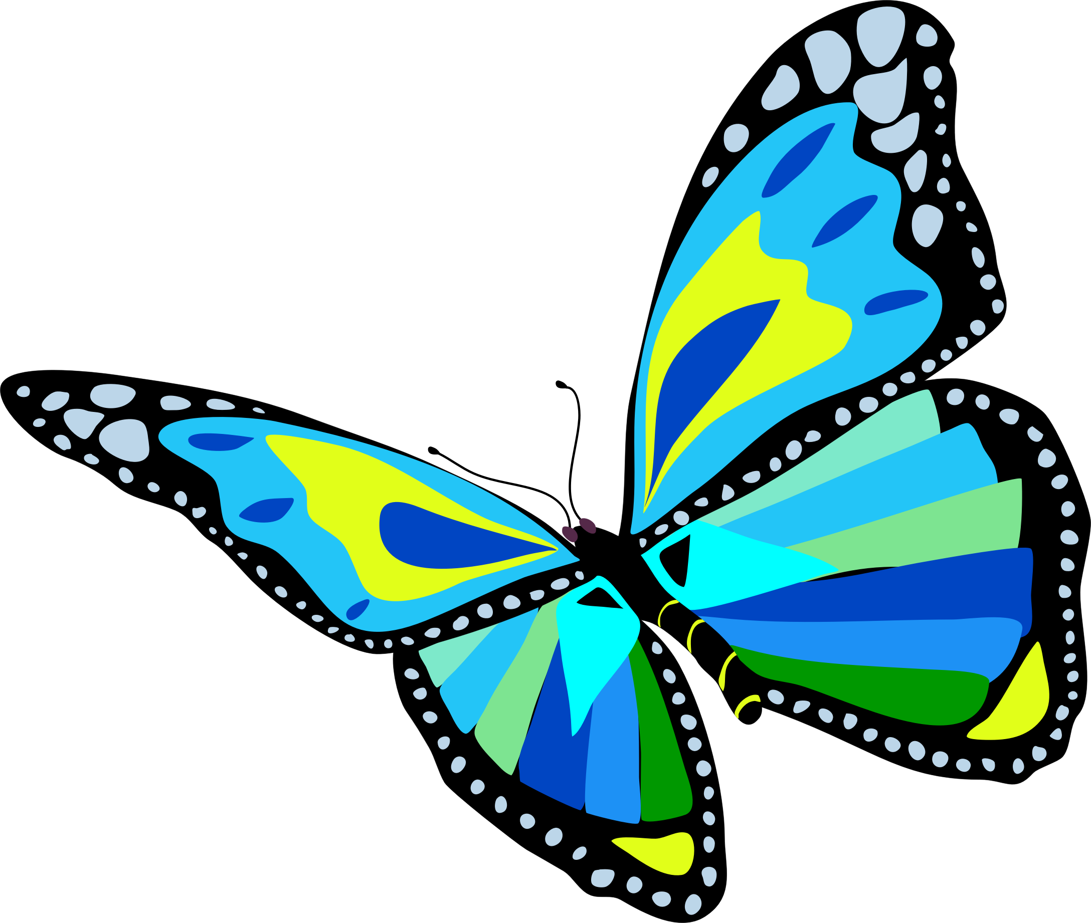 Bees clipart butterfly. And butterflies the fork