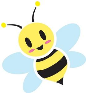 Free honey image computer. Bee clipart cartoon
