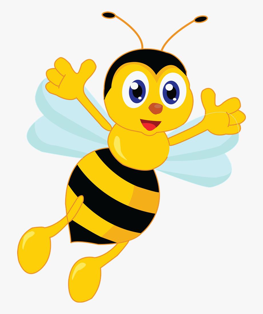 Cartoon bumble bee clip. Bumblebee clipart animated