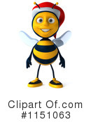 Bees clipart christmas. Royalty free rf illustrations