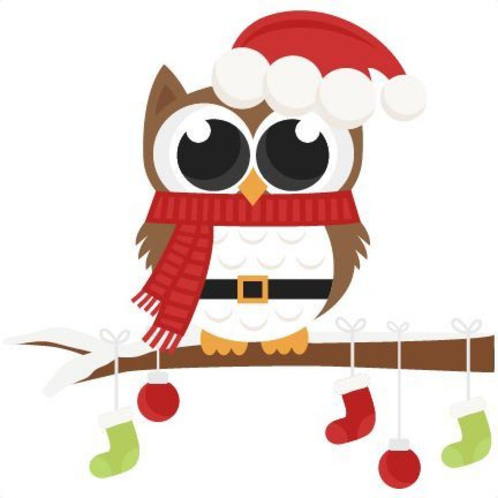 Owl hatenylo com santa. Bee clipart christmas
