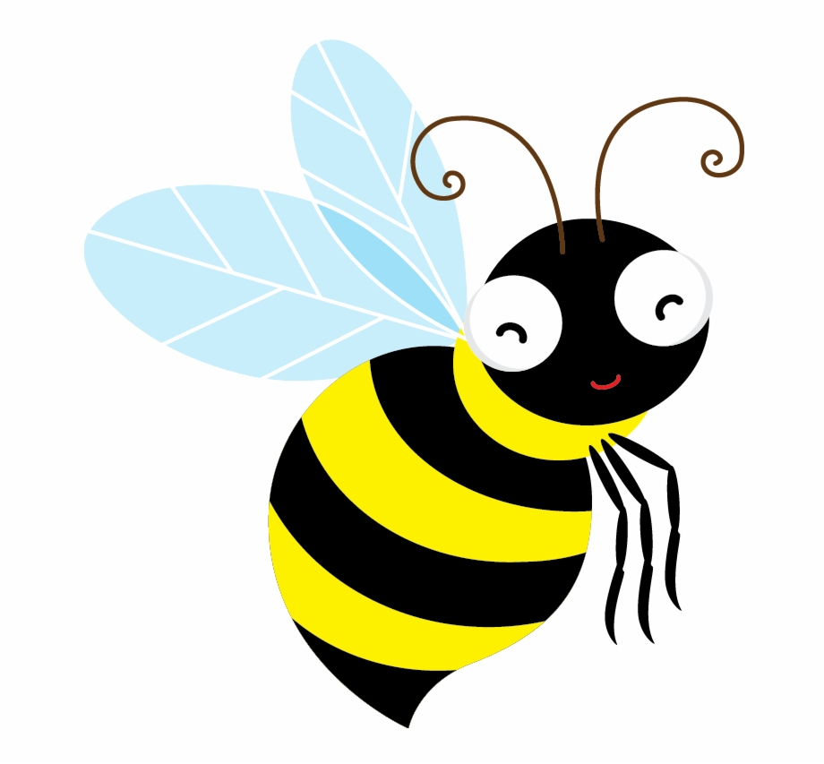 Bee clipart clear background. Positive transparent