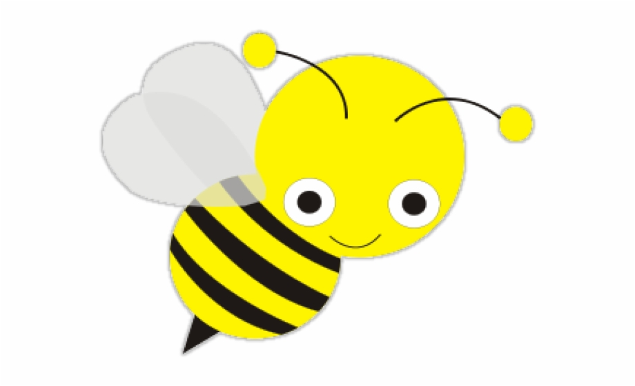 Cute transparent pngtube . Bee clipart clear background