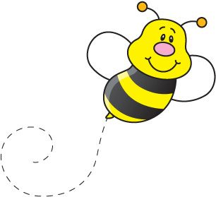 Bee free cute for. Bees clipart clip art