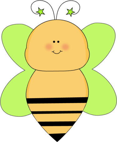 Insect clipart my cute graphic. Bee clip art images