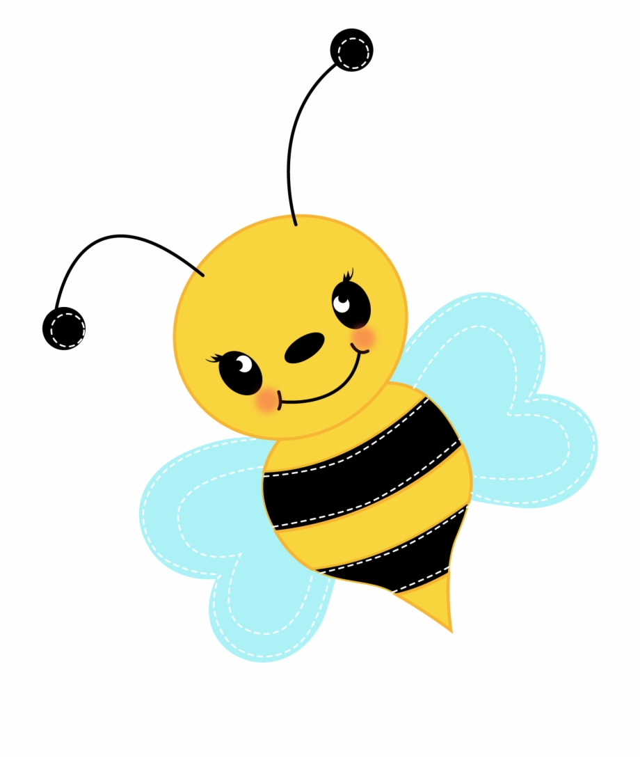 Bee clipart cute. Transparent png download
