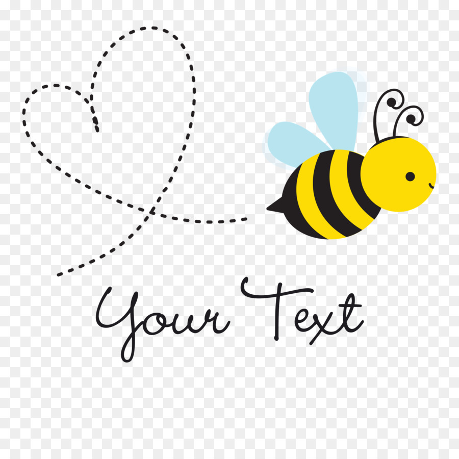 Butterfly logo beehive illustration. Bee clipart cute