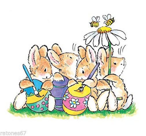 Penny black egg painting. Bee clipart easter
