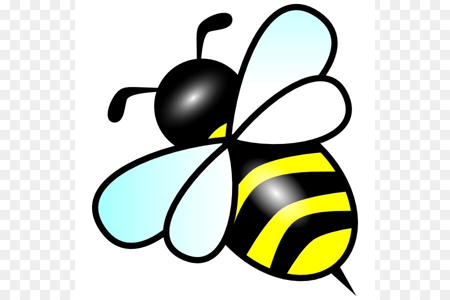 Bee clipart easy. Bumblebee clip art insect