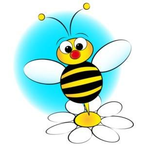 Bee hive clip art. Bees clipart flower