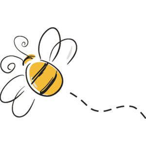 Bumble bee honey image. Bees clipart flying