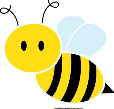 Bees clipart easy. Honey bee image cartoon