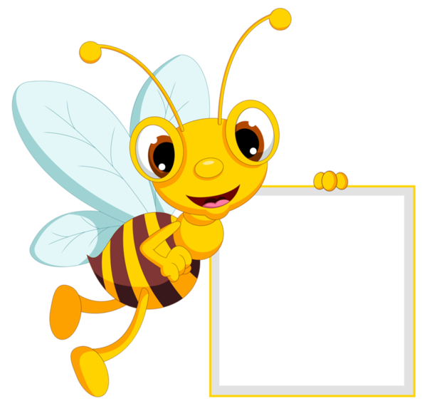 Bees clipart frame. Bee borders frames pinterest