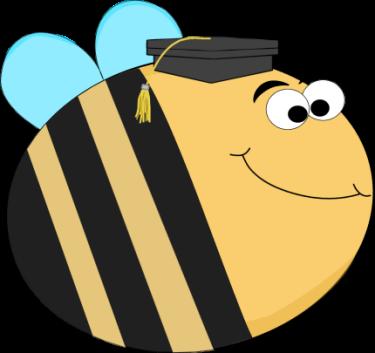 Mrs maag s kindergarten. Bee clipart graduation