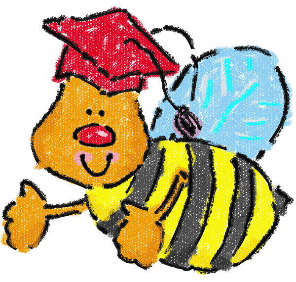 Bee clipart graduation. Mrs ayala s kinder