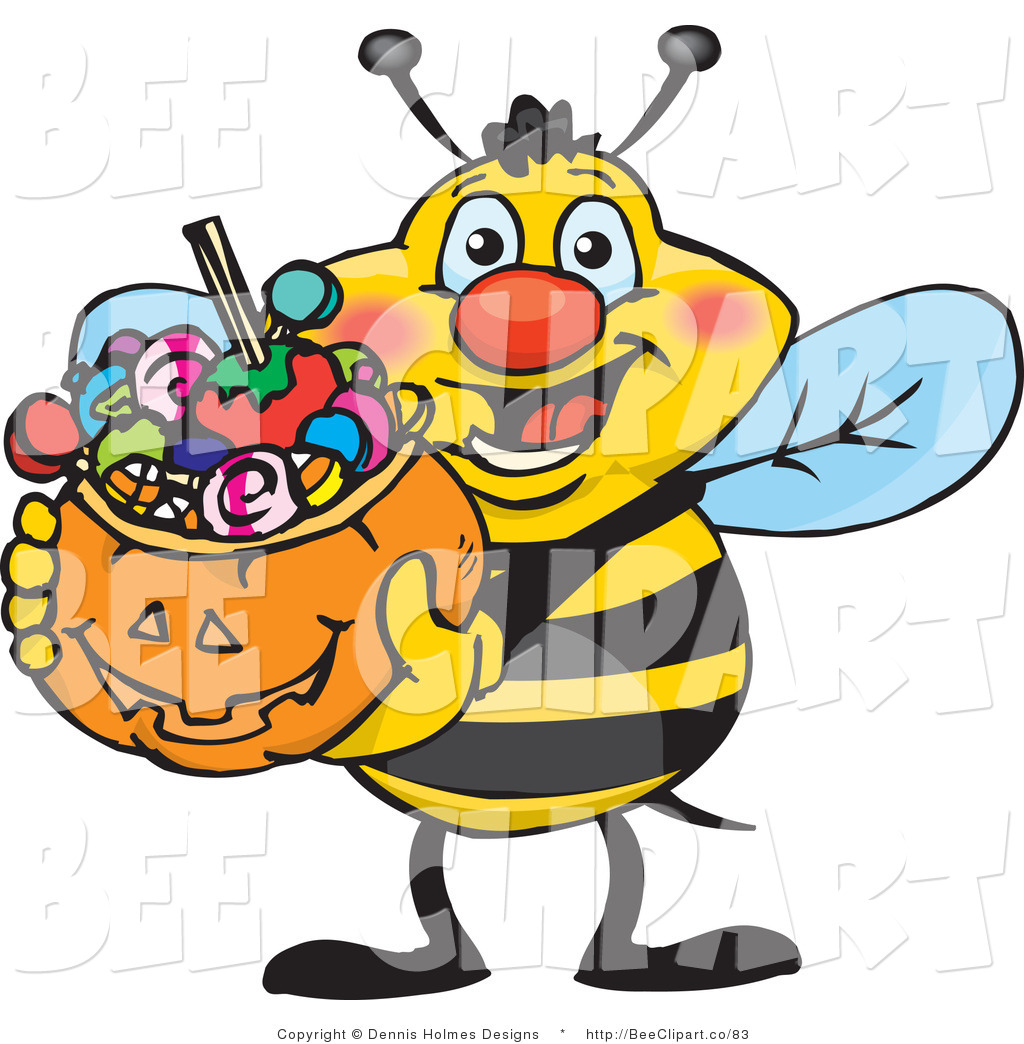 Bees clipart halloween. Yearbook panda free images