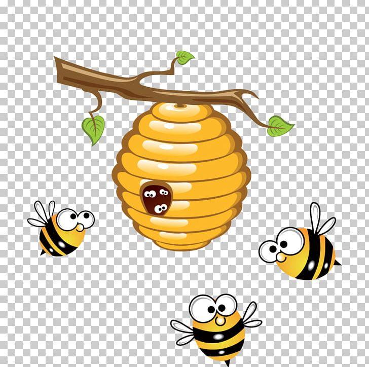 Beehive png artwork . Bee clipart honey bee