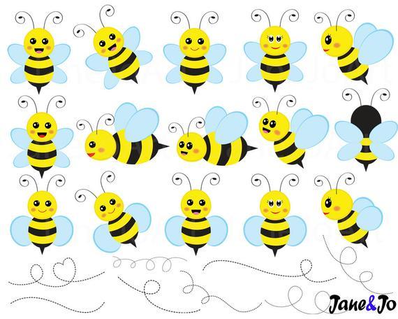 bees clip art. Bee clipart honey bee