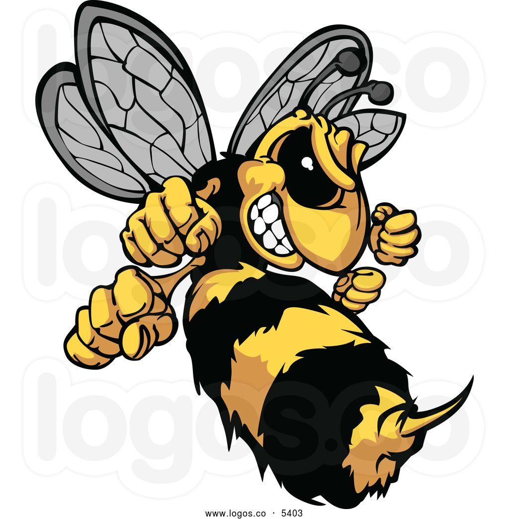 Stinger clip art tree. Bee clipart hornet