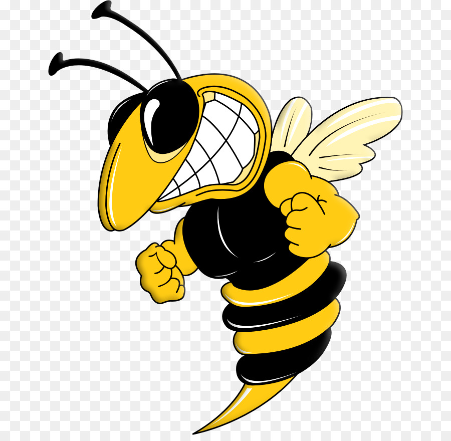 Honey clip art villain. Bee clipart hornet