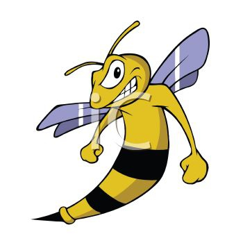 Bee clipart hornet. Embed codes for your